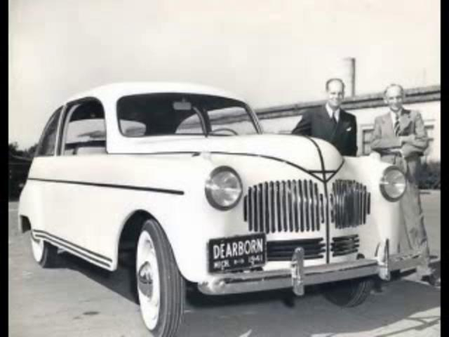 White Genius HENRY FORD Predicts Crop-based Ethanol as Fuel of the Future in 1925 and Builds Hemp-Plastic Car in 1941