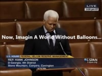 Affirmative Action = Congressman Hank Johnson