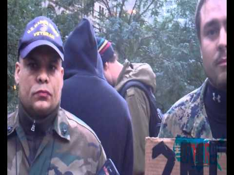 "Marine Vet at #OccupyWallStreet Tells Sean Hannity to ""F**k Off"""