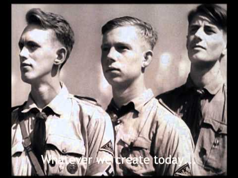 Hitler Youth Rally Speech - Triumph of the Will 1934 (Subtitles)