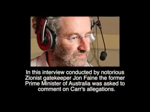 Ex-Australian Prime Minister Confirms Israel Attacked America