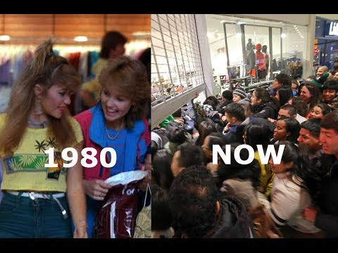Amerikwa: Black Friday 1983 vs. NOW - Humans vs. Animals