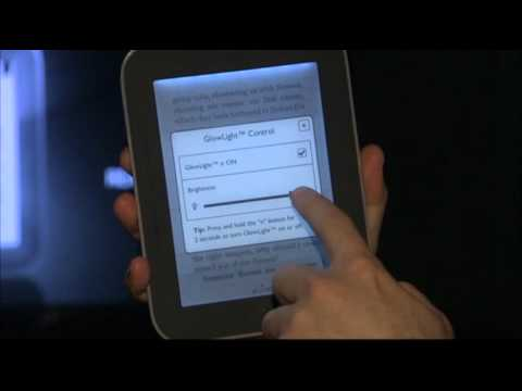 New E-Reader Adjusts to Light Level