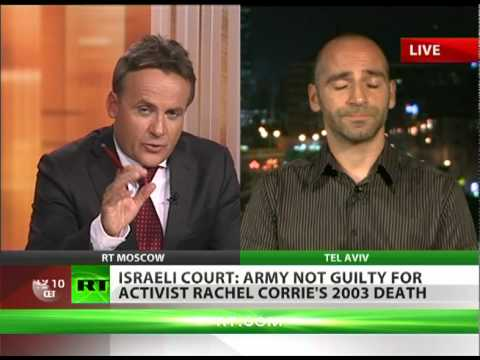 'Rachel Corrie verdict a clear example of Israel's rights violations'