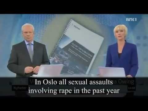 ALL rapes in Olso, Norway are by Non-Western Muslim Asylum Seekers