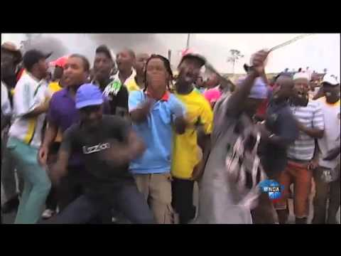 violent protests in South Africa worse ever typical negro behavior