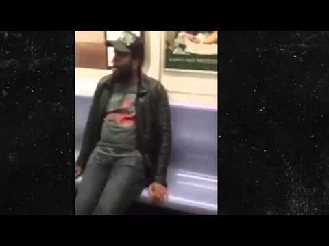 "LOL – NEGRO ACTOR FROM ""THE WALKING DEAD"" UNLEASHES INCOHERENT AND CRAZY RANT ON SUBWAY"