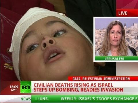Jews lie. IDF starts bombing media offices of foreign journalists