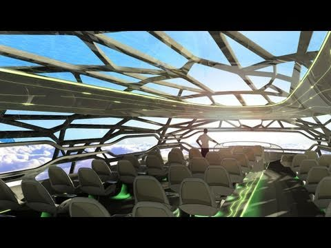Aryan Genius: The Future by Airbus - Concept plane cabin