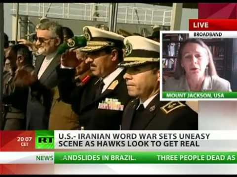 Karen Kwiatowski - 'US & Israel Stoking the Fires for War with Iran'