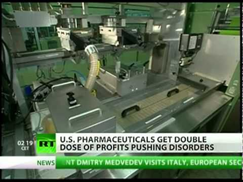 US pharm industry creates diseases