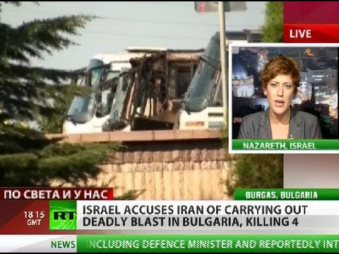 At least 6 killed in Bulgaria airport bus blast, Israel accuses Iran