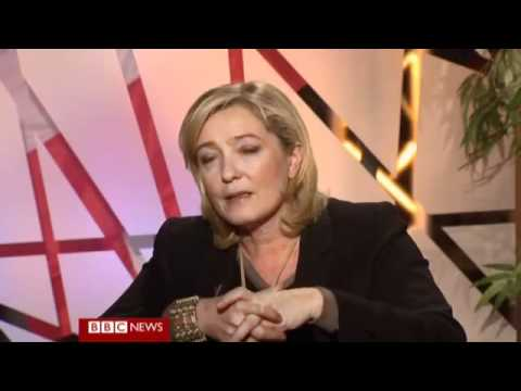 Marine Le Pen Interviewed
