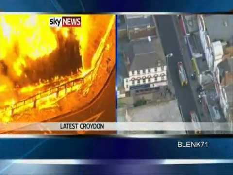 London Riots Spread Britain Out Of Control(HQ)