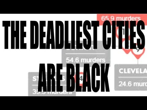 The Deadliest U.S. Cities Are Black