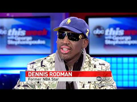 Dennis Rodman Defends Kim Jong-Un During Interview With George Stephanopoulos  04/03/13