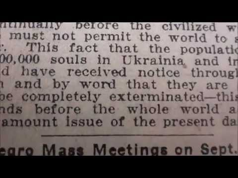 Holocaust Hoax: Pre-WWII Media Origins (1915-1938)