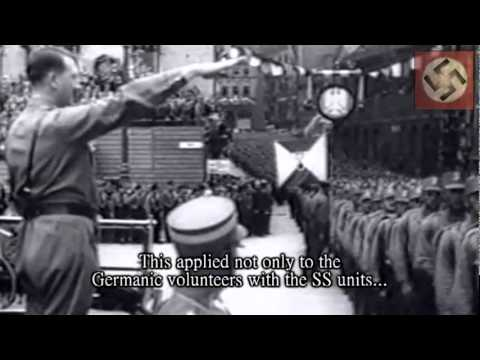 Hitler talks about his unconquerable Waffen SS