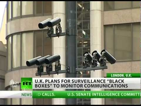 Black boxes assist Big Brother in the UK