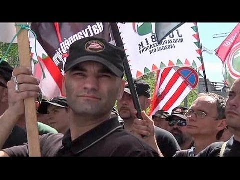 Hungary's Jobbik party holds anti-Jew rally