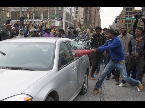 Baltimore Riots A Video Compilation