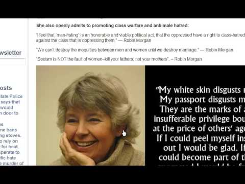 Feminist Jew Expresses Hatred for Whites