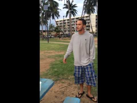 The thanks White people get for bringing civilization - Hawaiian man attacks dog & threatens White women