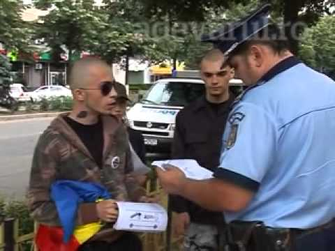 Nationalist vs Cops (me and 2 comrades protesting against ethnobotanics)